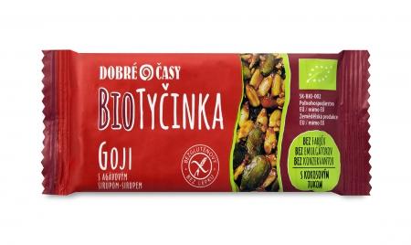 Biotycinka Goji s agavovym sirupom, vhodné pre bezlepkovú stravu