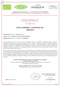 Certificate 21 12 2017 sheet 1